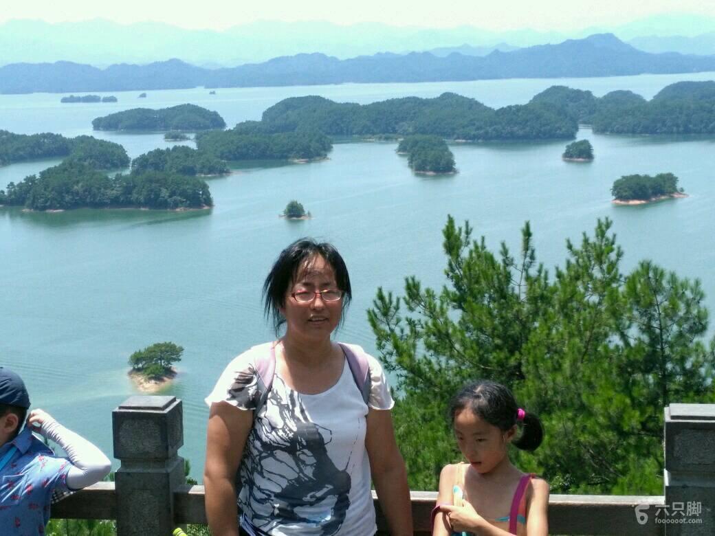 杭州千岛湖坐船