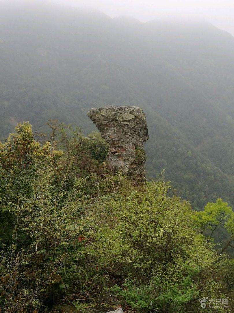 黄岩石大人峰一莲尖坪一松岩山小环线
