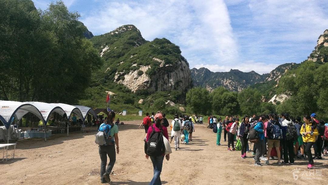 白河峡谷扎营营地
