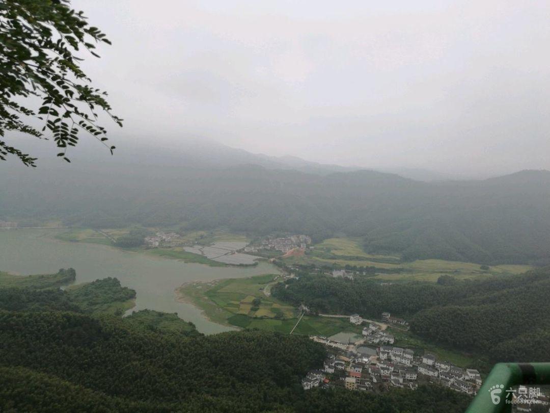 梅岭森林公园狮峰山