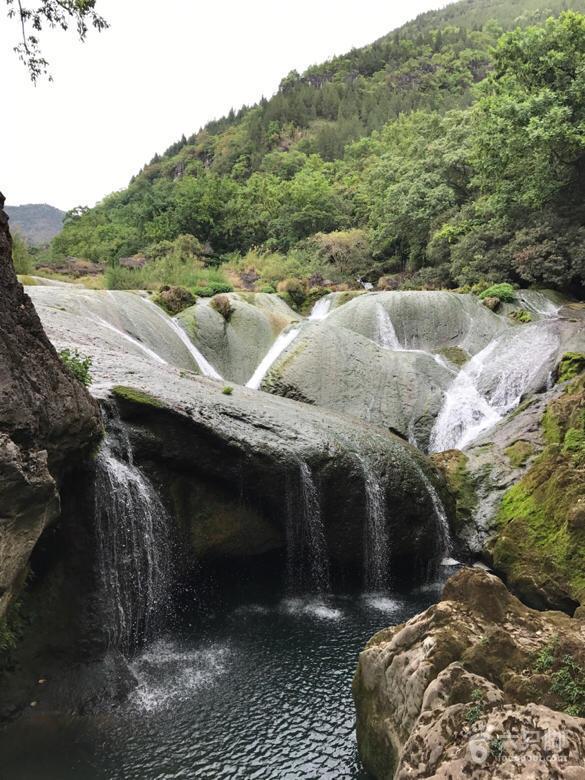 陡坡塘银链瀑,已经看不到当年的景象