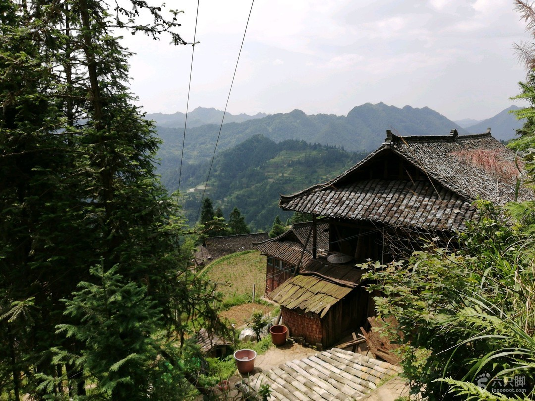 黔东南特色村寨及水乡6日行排倒村,村屋。