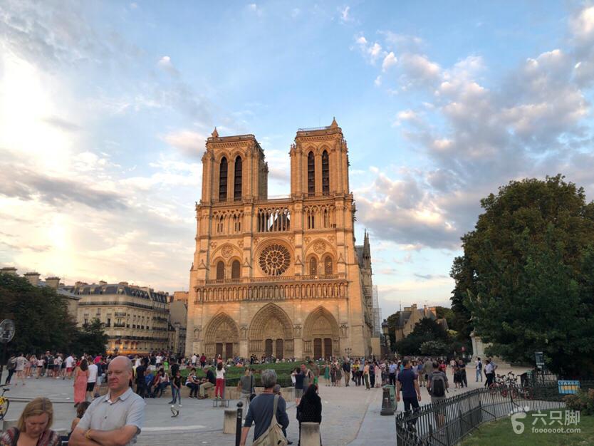 法国 巴黎圣母院 及 南岸脚印-22