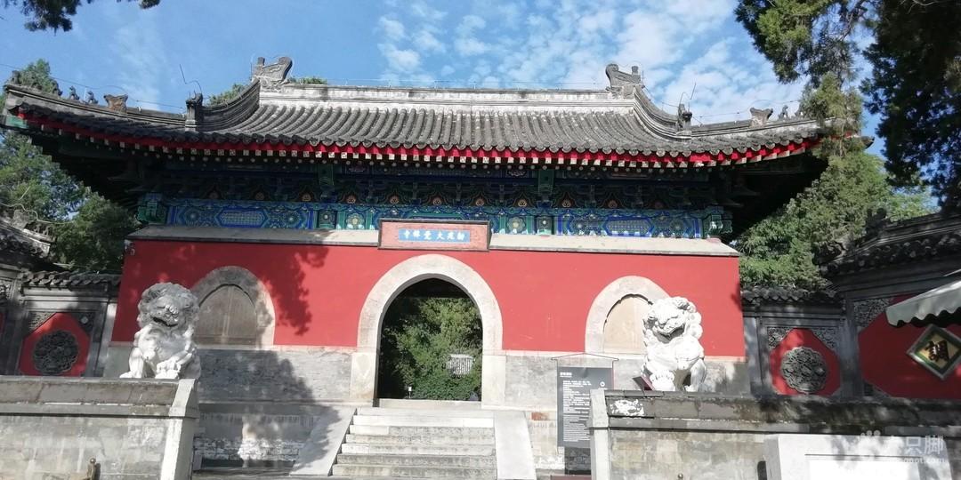 夏练三伏大觉寺
