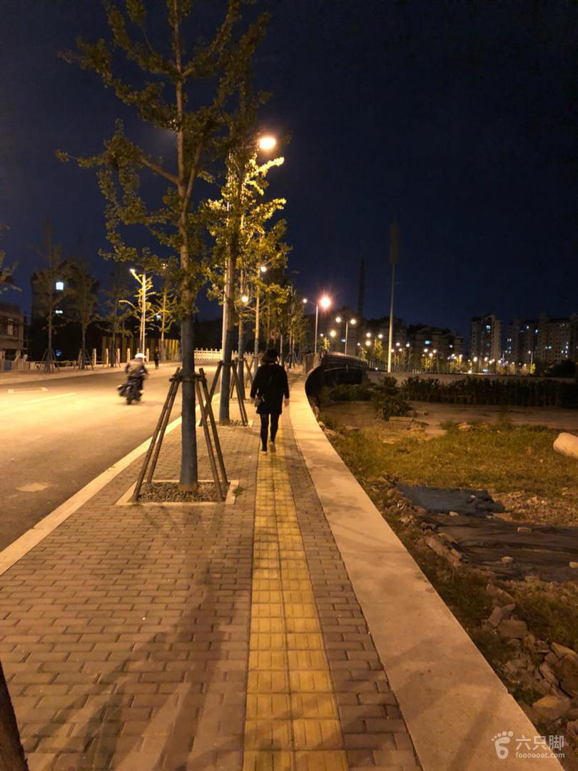 夜行风则江,廊桥水街文理环线脚印-12