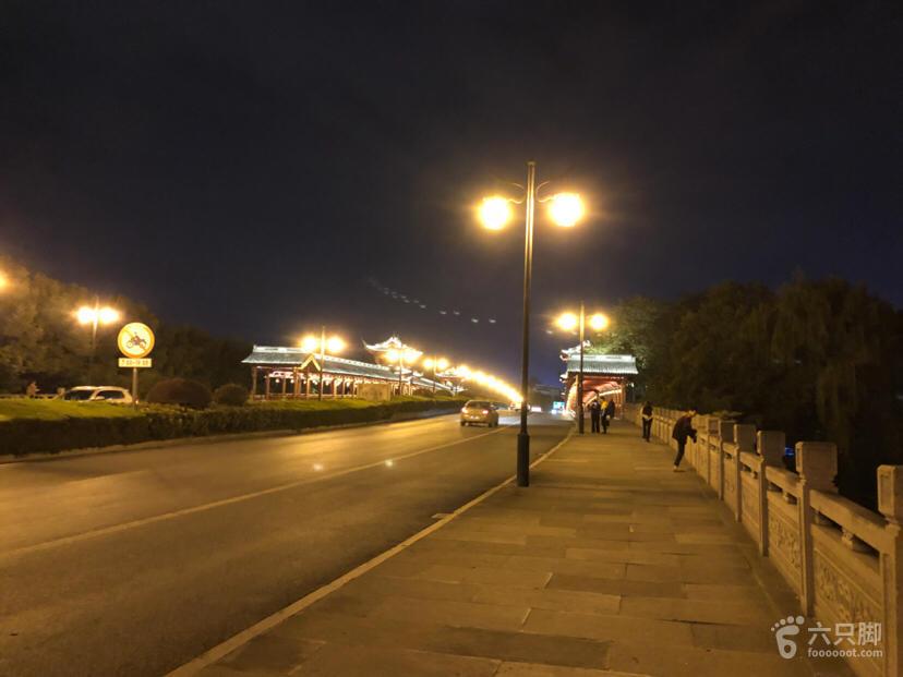 夜行风则江,廊桥水街文理环线脚印-1