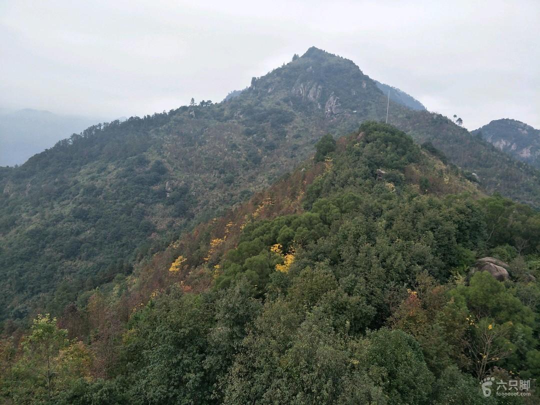 2019-01-10 徒步旗山登山道途径棋盘石棋盘寨台阶圈越3