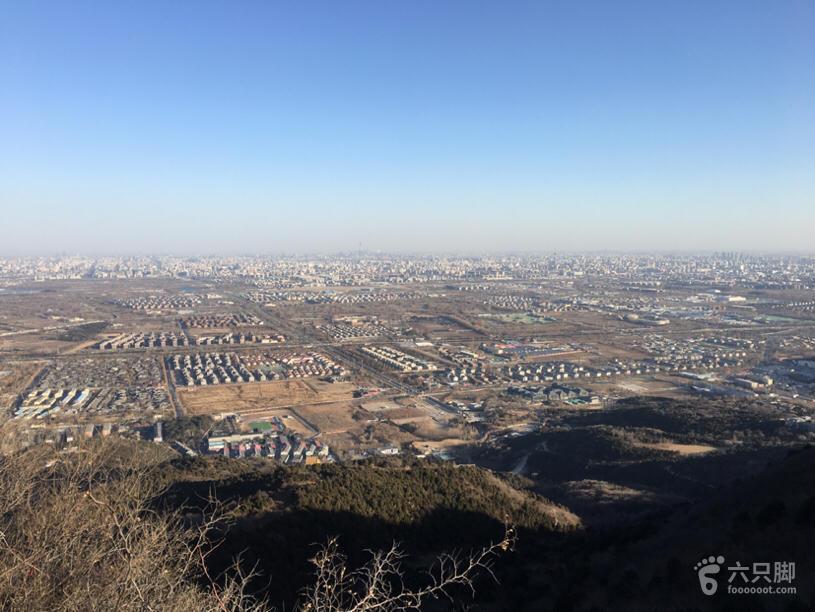 雍王府鬼笑石向东俯视京城