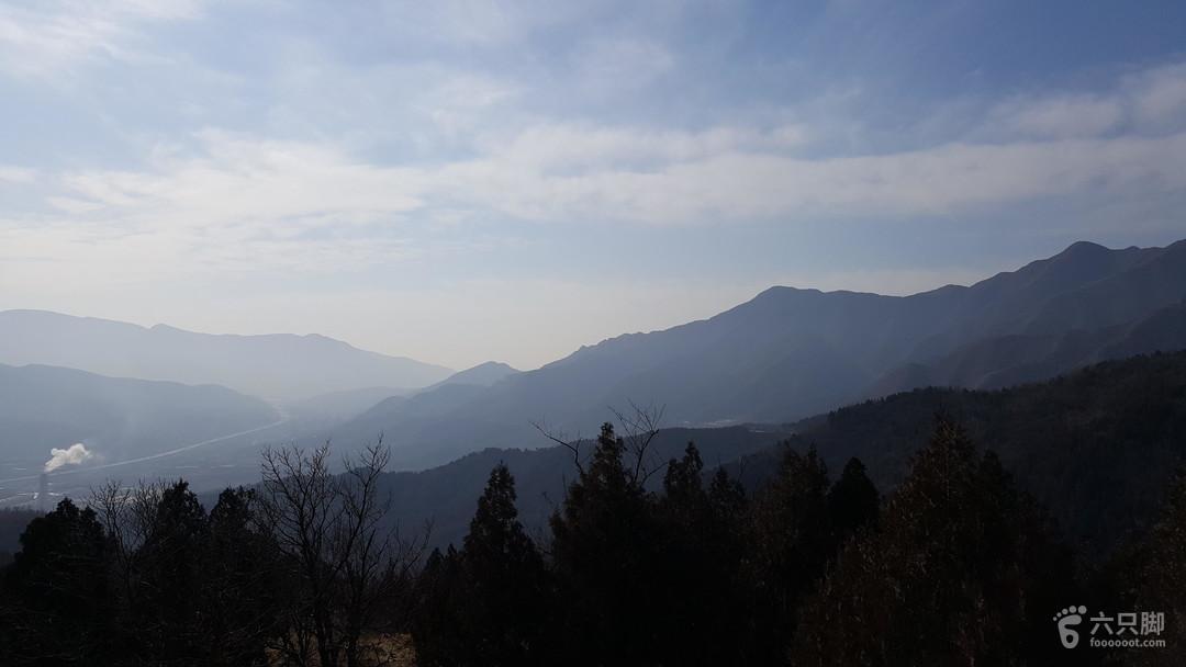 大觉寺-望京塔-北尖-萝芭地垭口-大觉寺20170212_103420