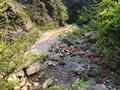 節點25(匯入巖溪處):右行趁機耕路出巖溪到大巖頭