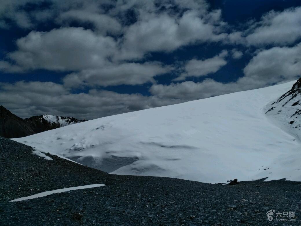 萨普徒步第3天萨普垭口顶(5444)
