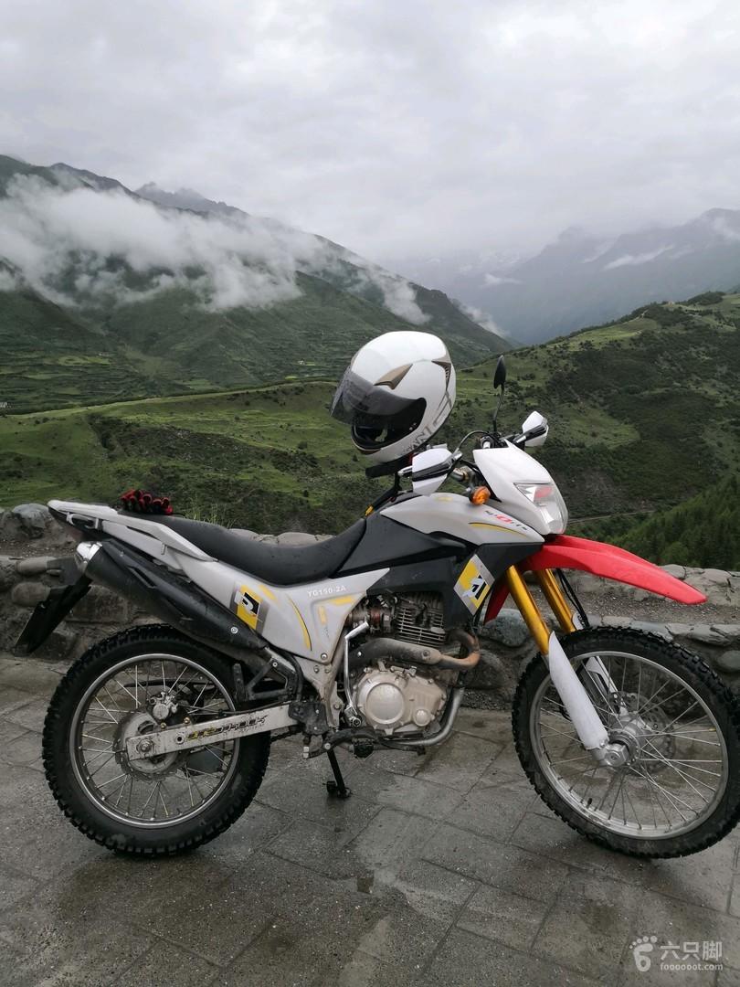 四姑娘山just come down the mountain