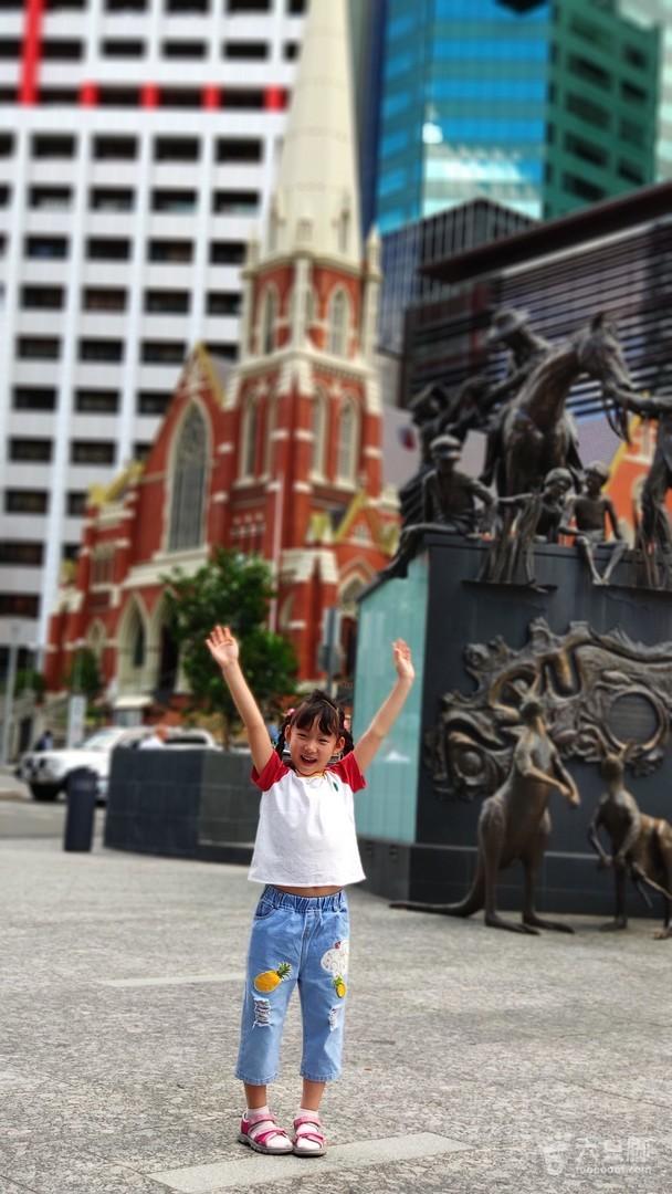 DAY 3 布里斯班城区布里斯班市博物馆广场