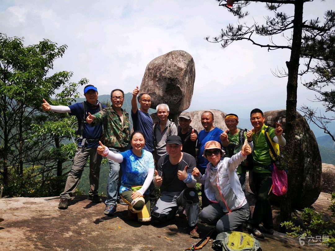 2019-05-18縉云石鼓尖~小黃山~仙能頭~大洋山尖在仙能頭合個影吧。