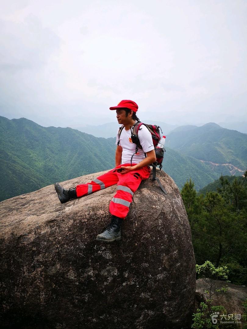 2019-05-18縉云石鼓尖~小黃山~仙能頭~大洋山尖麗水民安救援隊也走此線路,在拉練。